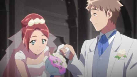 《灵感少女》守屋老师婚礼上突然出现白色的身影而且天海也认识,她是谁?