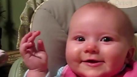 宝宝的胆大和乐观是打小练出来的!带孩子就要像外国人这样,省心
