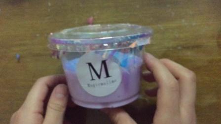 试玩仿M家起泡胶,幻彩纸超级好看!捏起来软软的,特别解压!无硼砂