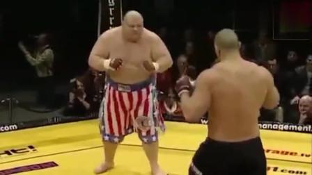 赛场上出纯肉的格斗高手,对手根本打不动