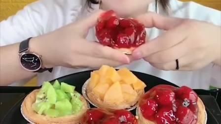 萌姐试吃:大蛋挞,各种果酱,看着就想吃