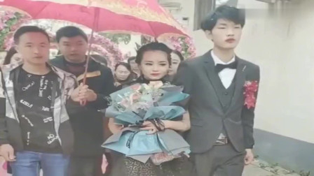这衣服,这音乐,广东这对夫妻确认是来结婚的吗