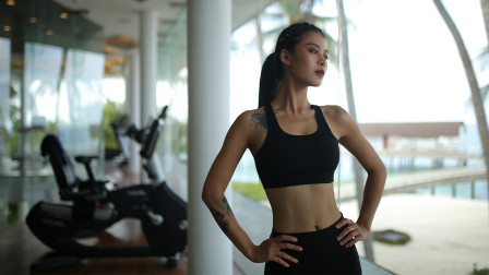 宅家健身系列:瘦腰训练