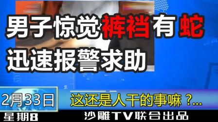 【超懵逼级沙雕新闻】看完满脑瓜子全是问号???