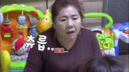 太寒碜!陈华妈妈手摔伤,韩国嘉宾:要喝炖牛骨汤,咸素媛却做了一桌素菜!