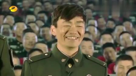 真正男子汉:教官让王宝强唱歌,强哥唱歌是逗大家笑
