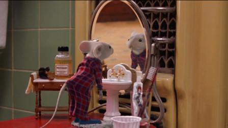 小老鼠成精与人沟通,被当成儿子养在家中,最后还和猫成为了朋友