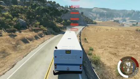车祸模拟器:计时大巴挑战赛,规定时间没到,直接爆炸!
