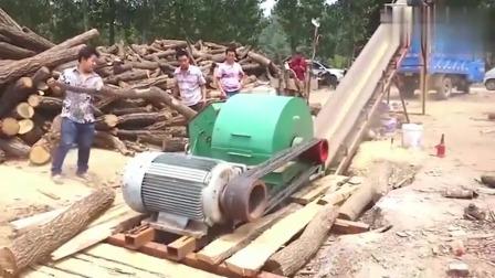 牛人发明:广西木材厂的设备真厉害,老板一年靠它赚了20万