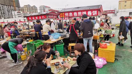 山东这座城市开工后,小吃生意相当火爆,这就是报复性消费吗?