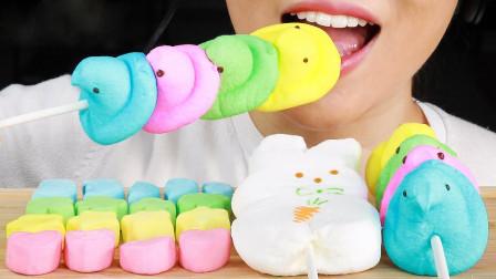 孩子们的最爱:粉嫩的棉花糖,从日月星辰到可爱小动物全都有
