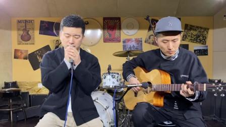 中国风设计元素 木思初衷蒲公英弹唱《忽然之间》蔡宁伴奏 靠谱吉他