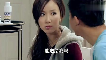 爱情公寓:胡一菲送给曾小贤漱口水!这是代表什么