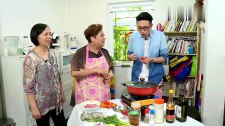 肥妈上门教煮饭 彩椒炒辣虾!