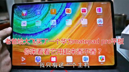 大飞买了一个华为MatePad Pro平板,想用来考研,发现真的很香!