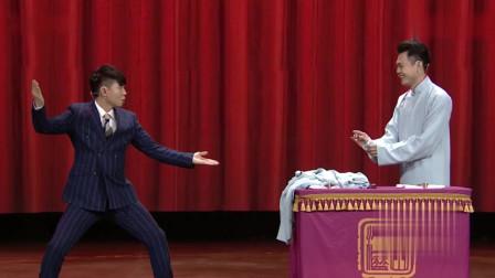 玉浩扮演太监与卢鑫对戏,卢鑫:不当太监可惜了!