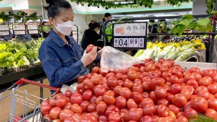 小爱把厨房卫生搞的很干净,又去超市大采购,看北京6环物价高吗