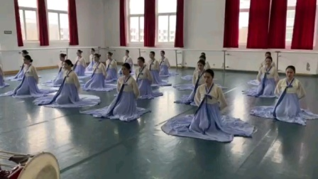 川影17舞表2班民间舞考试