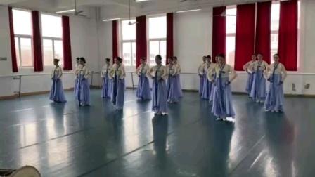 川影17舞表2班民间舞考试2