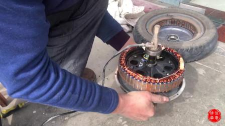 自己可以换电动车电机轴承吗?在家看一遍,小白也能学会维修