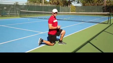 网球场四种变速跑练习