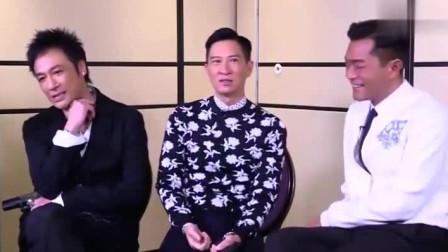 """古天乐、张家辉同期获乐坛新人奖,吴镇宇搞笑称同台""""自贬身份"""""""