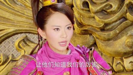 敌军来犯,樊梨花指挥薛家众将,没有一个人不服气