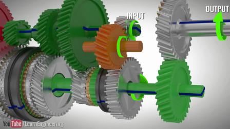 DSG双离合变速箱工作原理