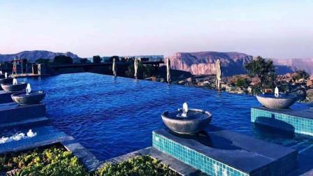 建在悬崖上的豪华酒店,不只是居住,还可以体验空中飞人!