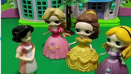 儿童玩具:乔治不小心把妈妈的口红掰断了,藏在保险柜里!