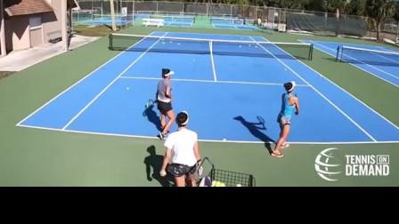 五种高水平网球集体训练实例