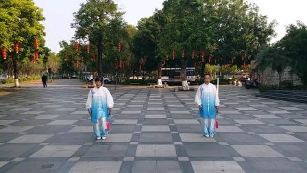 49式武当太极剑对练(陈露芬陈春梅)
