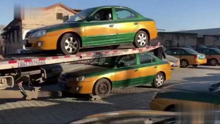 高手在民间!第一次见这么卸新车!不心疼吗