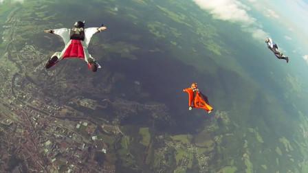 女子从4000米高空一跃而下,降落伞意外损坏,被25万只小生灵拯救