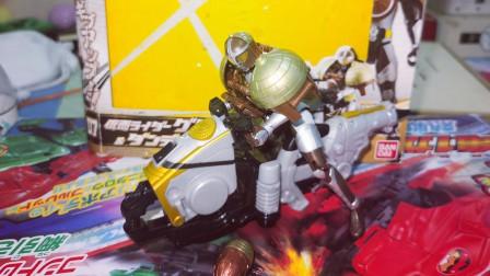 【疾风效应】假面骑士铠武AC 07 古列顿 橡果装甲 向日葵载具摩托 评测
