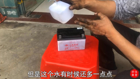 摩托车电池电解液加多少合适?会影响电池使用吗?修车师傅告诉你