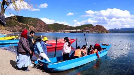 泸沽湖景区(里格),格姆女神山下带您欣赏泸沽湖美景