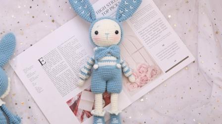 米妈手作 情侣兔 男兔部分
