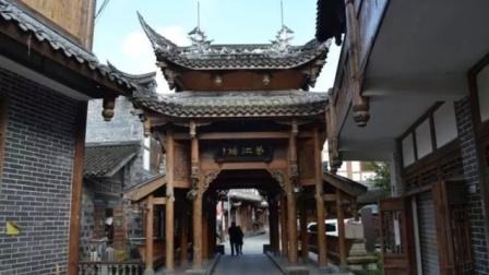 一足踏区市,一街连二镇的温江连二里市,好一幅川西乡村桥场景色