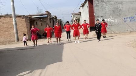 珠中阳阳舞队……你像三月桃花开