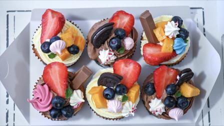 详细步骤教你装饰有颜又美味的杯子蛋糕
