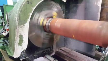 这是做什么的,那么粗的钢柱中间钻孔,第一次见