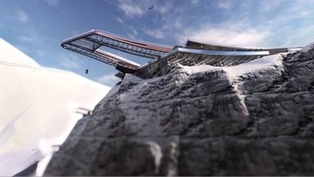 「小隐建筑」西藏·八宿·怒江72拐峡谷观景台