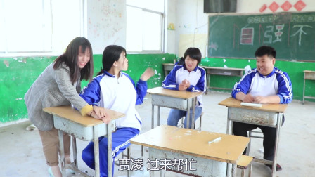 学霸王小九校园剧:女同学的手指甲被门夹了,没想被老师误以为涂了指甲油,太有趣了