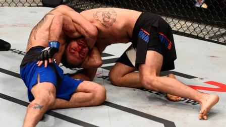 魔神缠绕:UFC的诡谲达斯绞降服