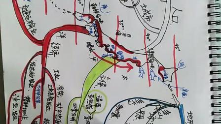 第八章走进国家第一节日本mindmap思维导图
