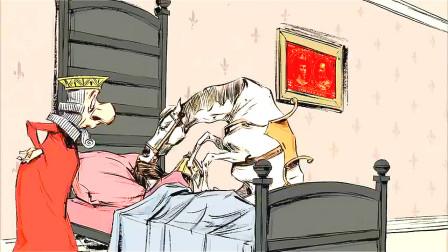 睡美人赖床不起,王子都不能吻醒她,直到马亲了一口后奇迹发生了!