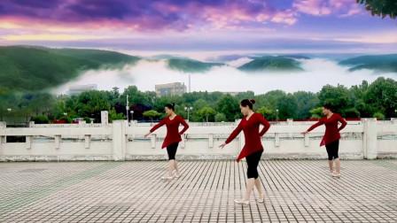 广场舞《燕双飞》形体舞附分解