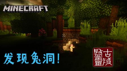 去青龙祭坛时,发现神秘兔洞,因杀害兔王子民,被其他兔子围殴致死【我的世界Minecraft】盘灵古域RPG 五周年 EP2