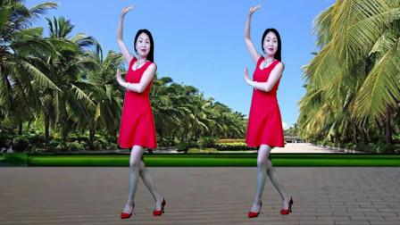广场舞DJ《爱情天堂》想要有你在身旁 牵你的手一直不放